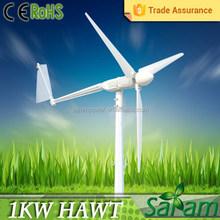 Easy installed residential 1KW aeros wind power