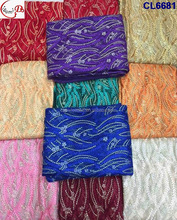 New arrival African charming guipure / french lace ,high quality beautiful lace fabric