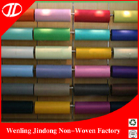 Colorful Breathable Pp Raw Material Non Woven Fabric For Bags