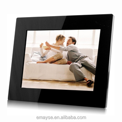 Wifi android digital photo picture frame LCD 8 inch wireless bluetooth white
