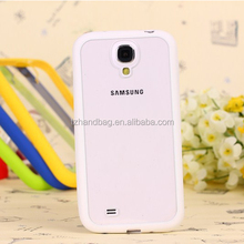 Silicon Bumper Phone Case Cover For Samsung Galaxy Note 3 Transparent Back Cover