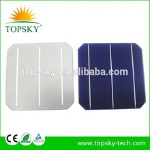 2015 hot sales 156mm mono solar cell solar panel pv cells 6inch mono-crystalline solar cell