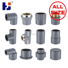 """HJ"" brand Plastic pvc/cpvc sch80 fittings high quality from China"