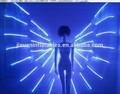 Rgb LED de la mariposa traje de vestido de la danza