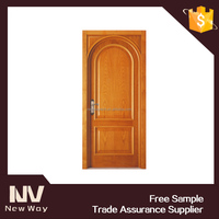 wholesale high quality interior curved wooden door