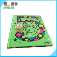 Hard cover full color learning book printing for Kids