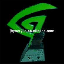 de diseño de promoción china trofeos de cristal