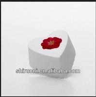 english rose heart bath bomb for weeding soap