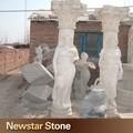 clássico decorativos de colunas de mármore para a venda
