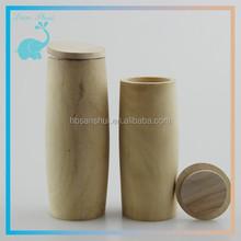 wood tube for essential oil glass dropper bottle /ejuice glass bottle