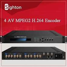 4 In 1 SD H.264/AVC MPEG4 IP Encoder With 4 CVBS In;IP Video Encoder