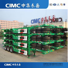 CIMC Factory Price 40ft Container Skeleton Skeletal Semi Trailer Chassis For Sale