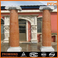 Customized Solid surface wedding lighted columns wholesale