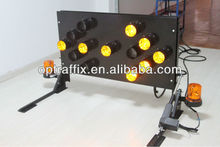 Aluminum frame Truck Mounted Arrow Board With A Size1260mm x 650mm