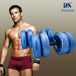Weight lifting Water filled dumbbells