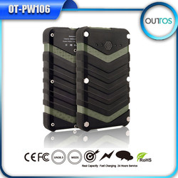 most professional power bank waterproof ,portable battery phone charger,