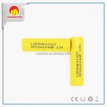 Good News! LG HE4 2500mah 20amp high drain 18650 rechargeable e-cig mod battery