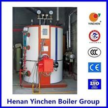 fuel dual fuel vertical small 12.5bar diesel fired pressure steam output boiler