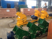 Recycling of waste materials hammer mill crusher