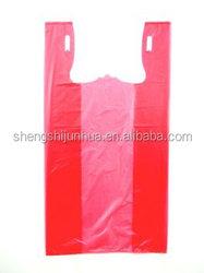 Wholesale customized durable t shirt plastic bags