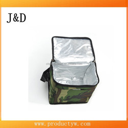 High Quality Insulated 6 Packs Fabric Lunch Cooler Bag