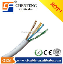4 Pairs Stranded Cooper Network/lan cable UTP CAT5E.