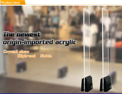 crystal acrylic eas anti surveillance electronic eas safety equipment eas jammer device store security rf device