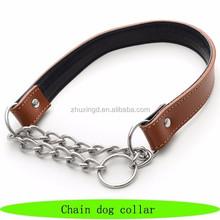 Dog collar 2015, chain link dog collars, chain martingale dog collar