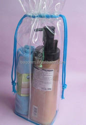 fashion eco cosmetic bag drawstring hot sale