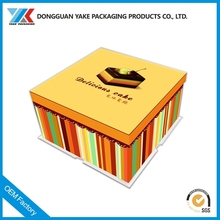 recycled empty birthday food packing chocolate window candy boxes packaging