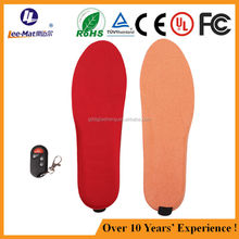 High quality insoles remote control boot heated insoles skiing thermal heated insoles battery heated insoles