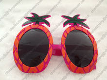 Funny promotion party glasses with pineapple shape