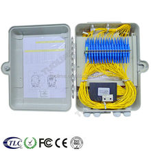 Tuolima FTTH 12 core indoor fiber optic splitter box