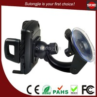 China supplier design unique car accessories mobile phone car stand,cellphone mount holder,phone car bracket with suction cup