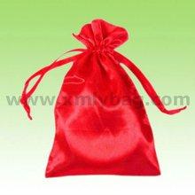Promotional Red Satin Lingerie Bag