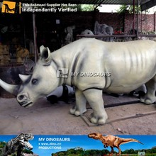 My-dino large outdoor animal rhinoceros decoration statues