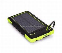 2015 innovative product,5000-8000mah portable solar power