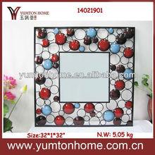 Decorative float square mirror