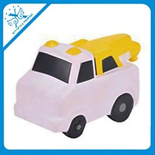 Pu car toys for kids promotional different shape PU car cheap plastic toy cars