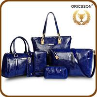 New Model Designer Ladies Handbags Buy 1 Get 5pcs Set Bags