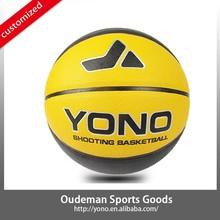 High quality cheap match factory YN-802 YONO brand selling wholesale pu basketball