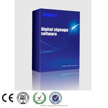 Factory price face recognition software dsm80 digital signage software