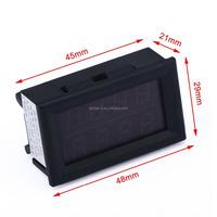 Digital DC Volt Amp Meter 0-33.00V/0-3.000A 12V Voltage Current Tester ,RED BLUE LED Dual Display