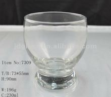 2012 230ml Clear Drinking Glass cup 7309