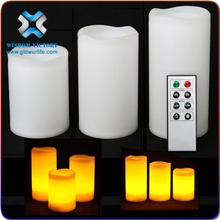 2015 Promotional Mini Lighted LED Stylish Candle For Party, Battery Controlled Flameless LED Lighting Up Stylish Candle For Gift
