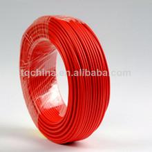 China fabrica vde h05s-k aislados con pvc 1.5mm de cableado eléctrico