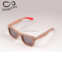 custom wood frame UV400 sun glasses with logo free of charge