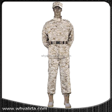 Army Digital Desert Military Camouflage ACU Uniform Suit