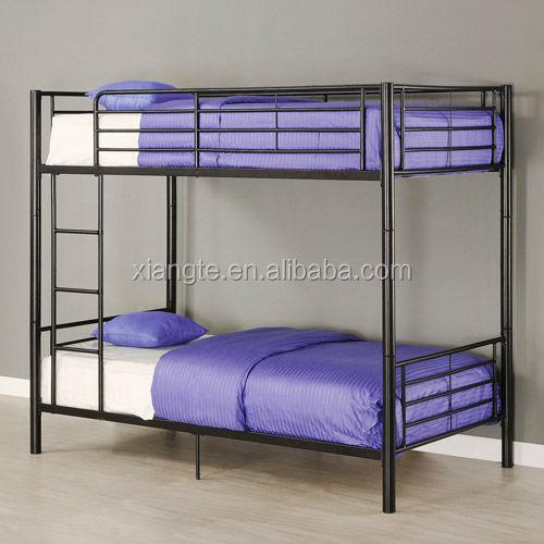Modern Design Steel Bunk Bed Frame Metal Double Decker