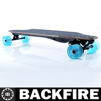 BACKFIRE electric skateboard 1000w ,maple skateboard with CE Professional Leading Manufacturer